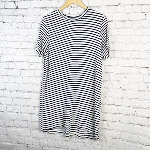 Brandy Melville | One Size Striped T-Shirt Dress